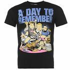 A Day To Remember Official Pop Punk T-Shirt Mens Black Top Tee Shirt