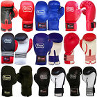 REX LEATHER BOXING GLOVES TRAINING SPARRING PUNCHBAG GLOVES AGE 12 TO 15 YEARS