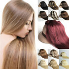"15""-30"" Clip in Remy Hair Extensions Full Head 100% human hair UK any colors HOT"