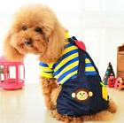 Dog Jumpsuit Dog Clothes 2 Color Pet Clothes  XXS XS S M L