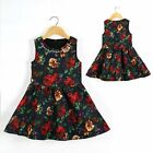 Baby Kid Girl Wedding Formal Party Flower Elegant Costume Dress Outfit Size 2-6