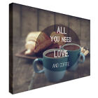Coffee All  You Need Canvas Art High Quality Great Value