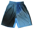 Jordan Mens Flight Printed Basketball Shorts Light Blue 642244 412
