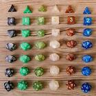 7pcs set TRPG Game Dungeons & Dragons D4-D20 Multi Sides Dice LIN