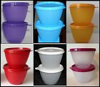 TUPPERWARE SET OF 2 14oz REFRIGERATOR STORAGE BOWLS / CONTAINERS U PICK COLOR
