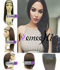100 human hair wigs for sale - Pretty Hot Sale 100% remay human hair half wig for 3/4 head easy use all color