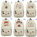 Kawaii Kaomoji School Shoulder Bag Unisex teenager Kid Backpack Laptop Bag Gift