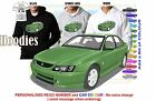 2002-03 VY SS COMMODORE SEDAN HOODIE ILLUSTRATED CLASSIC RETRO MUSCLE SPORTS CAR