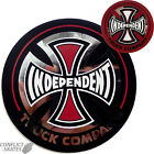 "INDEPENDENT TRUCK CO ""Foil"" Skateboard Sticker 8cm 3"" Decal INDY RED or BLACK"