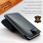 Genuine Leather Luxury Pull Tab Flip Pouch Sleeve Phone Case Cover✔Jinga Phones