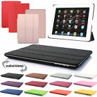 New Leather Magnetic Smart Stand Case Cover For Apple iPad 2/3/4 Mini Pro
