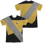 Star Trek Next Generation WORF UNIFORM 2-Sided All Over Print Poly T-Shirt on eBay