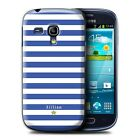 Personalised Custom Stripes/Striped Phone Case for Samsung Galaxy S3 Mini/Cover