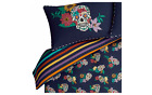 SUGAR SKULL FLORAL Multi coloured Duvet Cover Set SNG DBL KING SUPERKING George