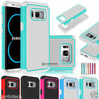 Hybrid Hard Armor Defender Shockproof Case Cover For Samsung Galaxy S8 / S8 Plus