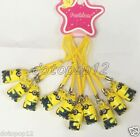Lot Popular Cartoon Cell Phone Strap JINGLE BELLS Dangle Charms Party Gifts H06