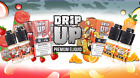 4x10ml Drip Up USA E Liquid E Juice Fruity Flavour Strawberry Sub Ohm High VG