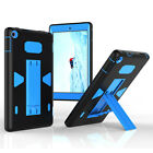 Hybrid Rugged Shockproof Heavy Stand Case Cover For Amazon Kindle Fire HD 8 2016