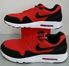Air Max 1 Ultra 2.0 Essential University Red/Black-White 875679 600 Men's size