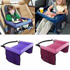 Kids Travel Play Tray Table Baby Car Seat Buggy Pushchair Snack TV Laptray #ab