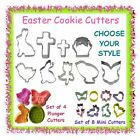 Easter cookie or fondant cutters - CHOOSE YOUR STYLE - rabbit egg chick basket