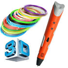 Brand NEW First Generation Intelligent  DIY 3D Drawing Printer Pen PLA Filaments