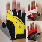 FITNESS GYM GLOVES GEL PALM WEIGHT LIFTING SPORT CYCLING HALF FINGER GLOVES