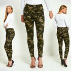 New with Tag High Rise Camo Skinny Jeans Women's Girls Ladies