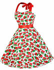 Vintage Retro Swing 50s 40s Housewife Pinup Evening Party Prom dress
