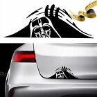 DARTH VADER TRUNK PEEK Decal Sticker CAR JDM 13.1 0.0 STAR WARS EMPIRE REBEL $4.58 USD