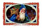 Christmas Santa Crazy Quilt Block Multi Sizes FrEE ShiPPinG WoRld WiDE (CH4