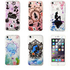 Cartoon Princess Alice Mermaid Soft Rubber Silicone Luxury Case Cover For iPhone