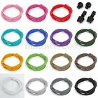 15 Colors Pair Of Locking Shoe Laces Elastic Shoelace Jogging/Running/Sports US