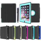 """SMART SHOCKPROOF COVER STAND RUBBER LOT CASE FOR APPLE IPAD 2 3 4 IPAD 5 9.7"""""""