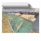 Poster Print Wall Art Charles Angrande The Western Railway Landscape Home Décor