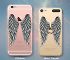 Angel Wings Feathers Cute Case for iPhone 7 7 Plus 6s 6 SE 5s 5 5c iPod 6th 5th