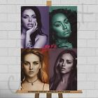 "Little Mix Girl Band Canvas Print Poster A1 30""x20"" Perry Jade Jesy Leigh-Anne"