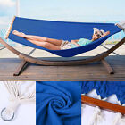 Heavy Duty Hammock - Fabric - Double Size Spreader Bar