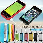 External 4200mah Power Bank Charger Pack Backup Battery Case For Iphone 5s 5c Se