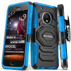 Moto G5 Plus Case, Evocel Rugged Holster Case w/ Kickstand &amp; Belt Clip Holster <br/> OFFICIAL STORE | FREE SHIPPING | SATISFACTION GUARANTEE
