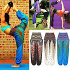 Women Harem Pants Loose Gym Baggy Aladdin Hippie Yoga Maternity Boho Trousers