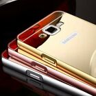 Luxury Aluminum Metal Mirror Case PC Back Cover Skin For Samsung Galaxy S7 S8 XD