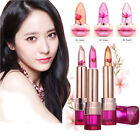 Women Jelly Flower Lipstick Magic Color Changing Long Lasting Moisturizing Lip