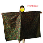 3 in 1 Outdoor Camping Hiking Backpack Rain Cover One-piece Raincoat Poncho Cape