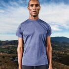 Mens J2X Fitness Sport Gym Running T-Shirt Top Blue Marl