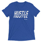 Hustle Wins Games Basketball Tee