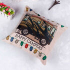 Vintage Pattern Owl Linen Throw Cushion Cover Sofa Bed Home Decor Pillow Case