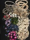 Lot of SHELL Conch Shell Puka Mother Of Pearl Necklaces Bracelets 2.5 Lbs