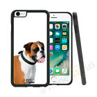 Boxer Dog Grip Side Gel Case Cover For All Top Mobile Phones