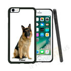 German Shepherd Dog Grip Side Gel Case Cover For All Top Mobile Phones